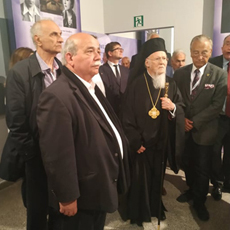 The President of the Hellenic Parliament presented the exhibits for the Permanent Greek Exhibition in Auschwitz