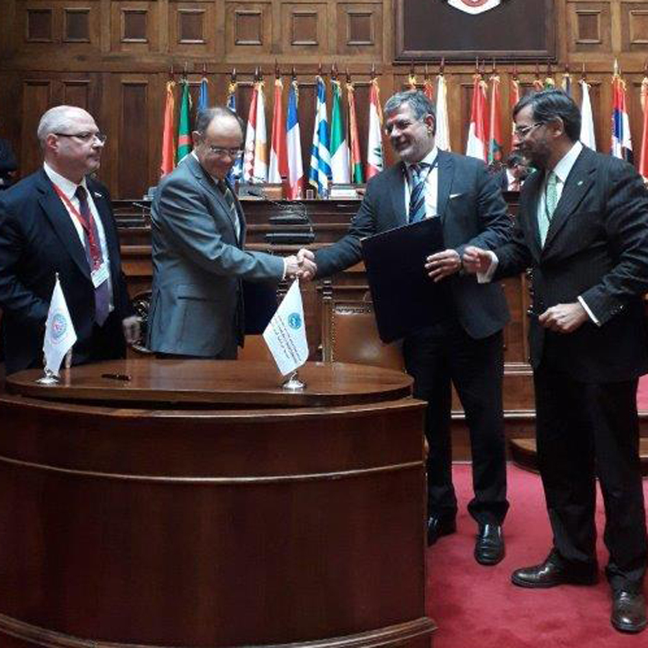 Signature of the Memorandum of Understanding between the Interparliamentary Assembly of Orthodoxy and the Parliamentary Assembly for the Mediterranean