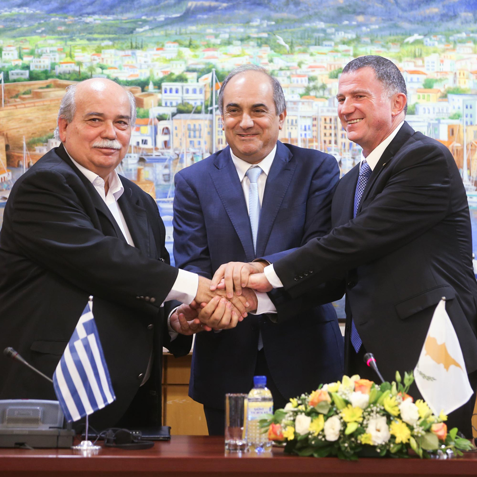 2nd Trilateral meeting of the Presidents of Parliaments of Greece – Cyprus – Israel