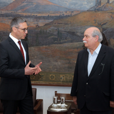 Meeting of the President of the Hellenic Parliament with the new Ambassador of Turkey to Greece