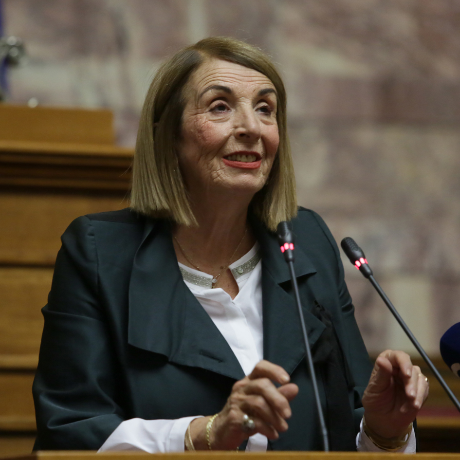 """We should absolutely safeguard the European convention on human rights and the Geneva convention on refugee status"", states the third Deputy-Speaker of the Hellenic Parliament Mrs. Christodoulopoulou."