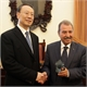 Meeting of the Deputy Speaker of the Hellenic Parliament with the Vice Chairman of the National Committee of the Chinese People's Political Consultative Conference