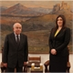 Meeting of the Speaker the Hellenic Parliament, Zoi Konstantopoulou with the Speaker of the House of Representatives of the Republic of Cyprus, Giannakis Omirou