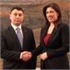 Meeting of the President of the Hellenic Parliament Ms Zoe Konstantopoulou with the Vice President of the National Assembly of Armenia Mr Eduard Sharmazanov