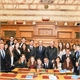 Meeting of a delegation of distinguished students from Israel with the President and members of the Parliamentary Friendship Group Greece-Israel